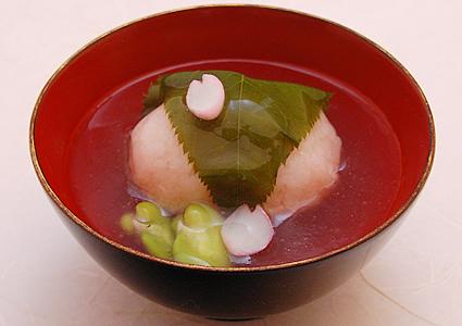 飯蛸 桜煮