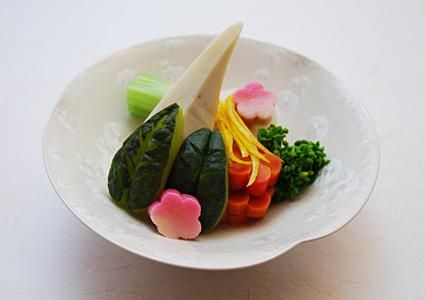 海老芋と聖護院大根 冬野菜の煮合わせ